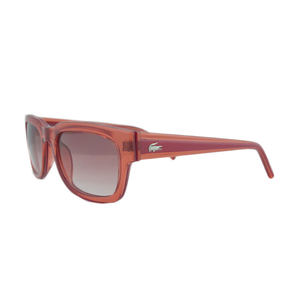 Lacoste L 699S 630 Clear Red Wayfarer Sunglasses