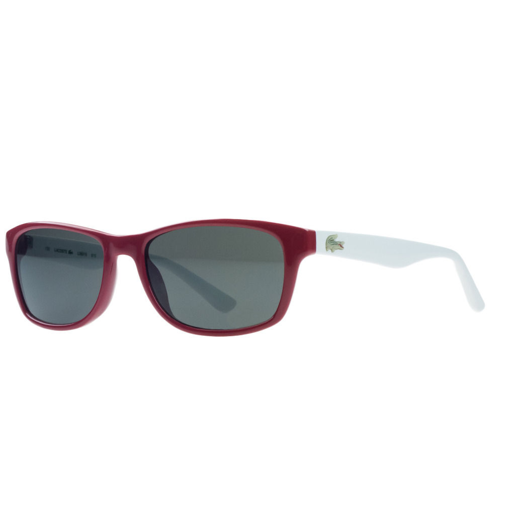 Lacoste L3601/S 615 Red Wayfarer Sunglasses