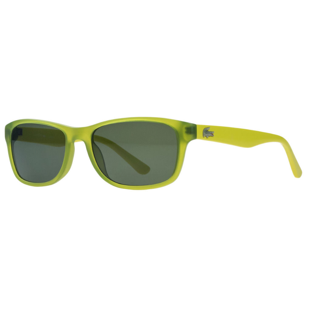 Lacoste L3601/S 315 Acid Green Wayfarer Sunglasses