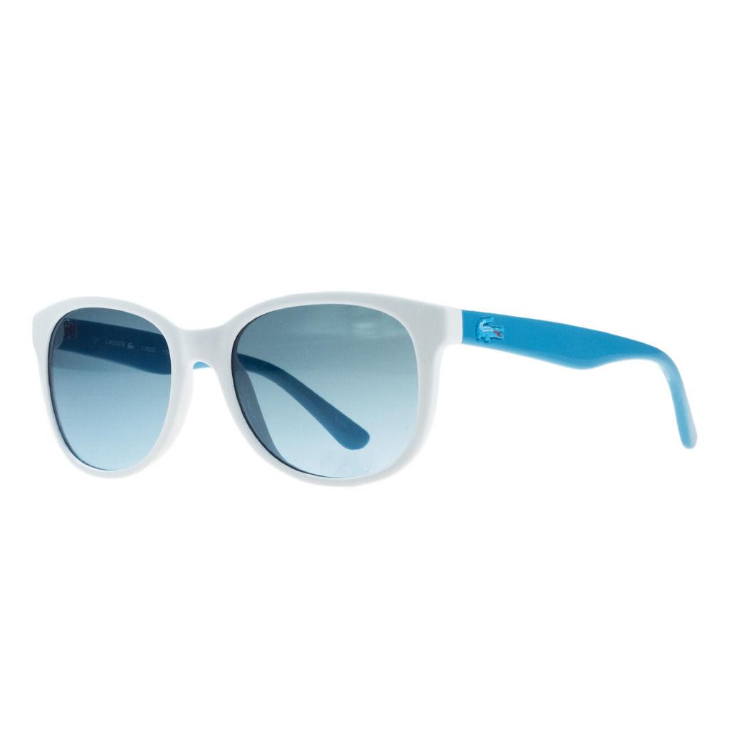 Lacoste L3603/S 105 White Wayfarer Sunglasses