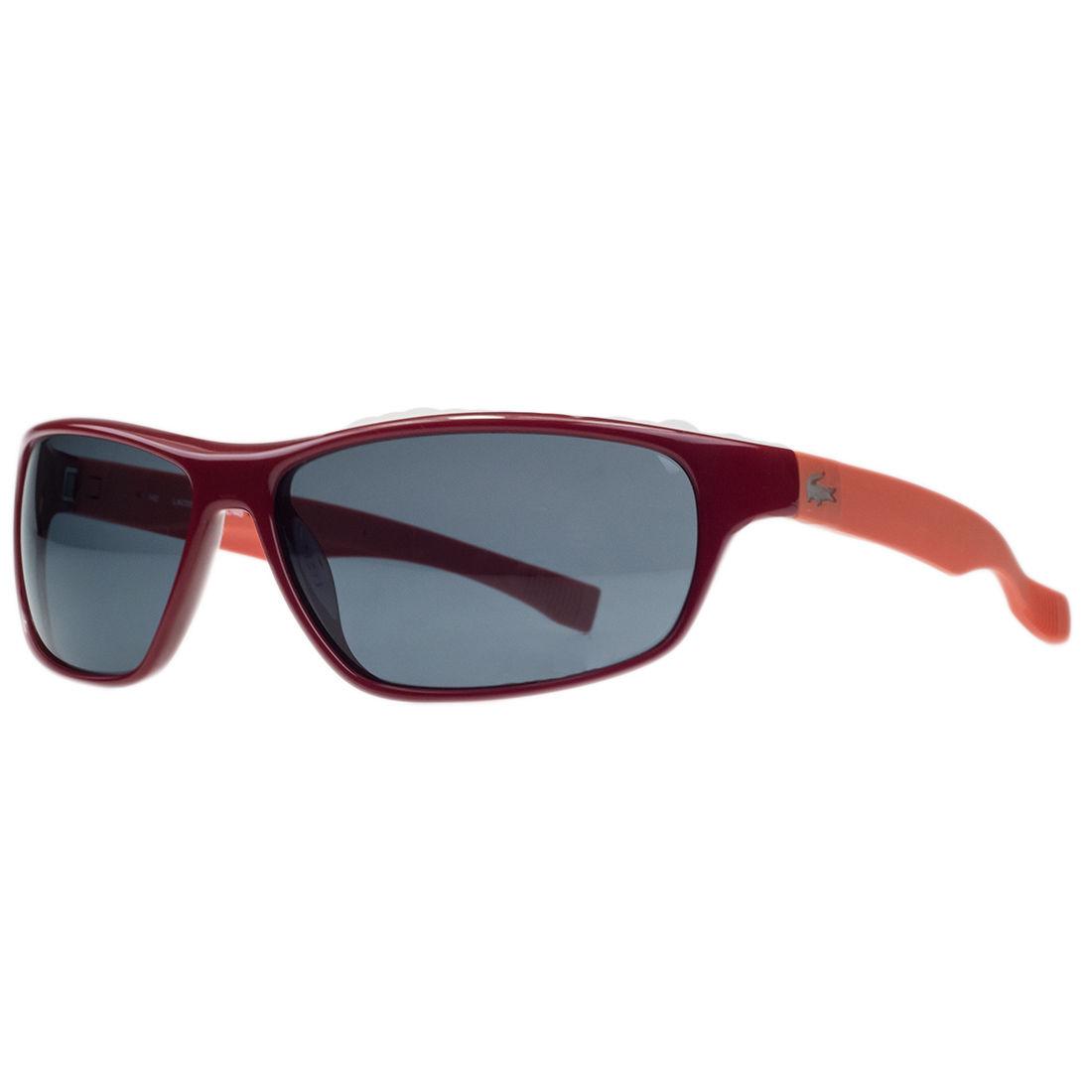 Lacoste L744/S 615 Red Rectangular Sunglasses