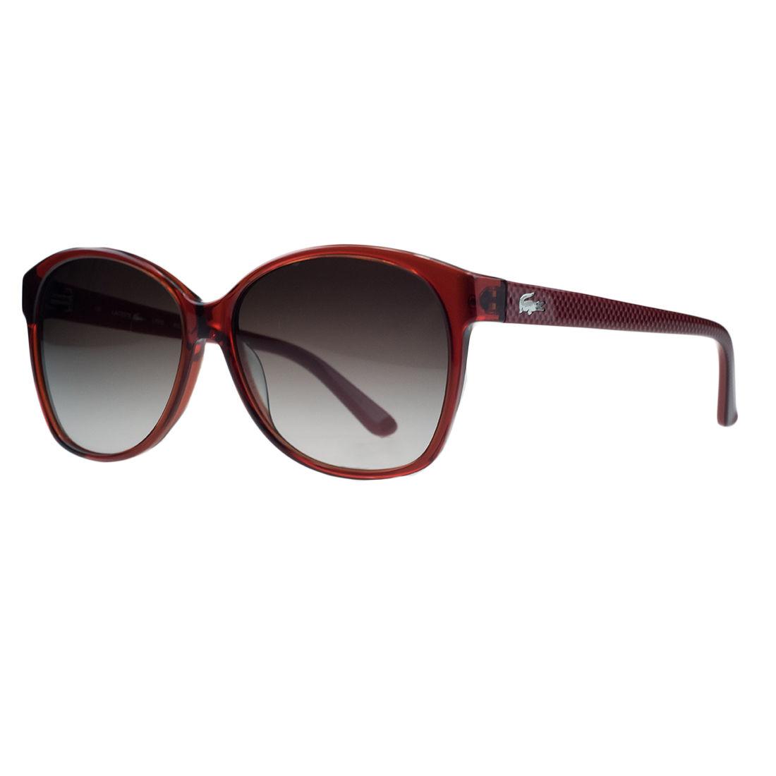 Lacoste L701/S 615 Red Wayfarer Sunglasses
