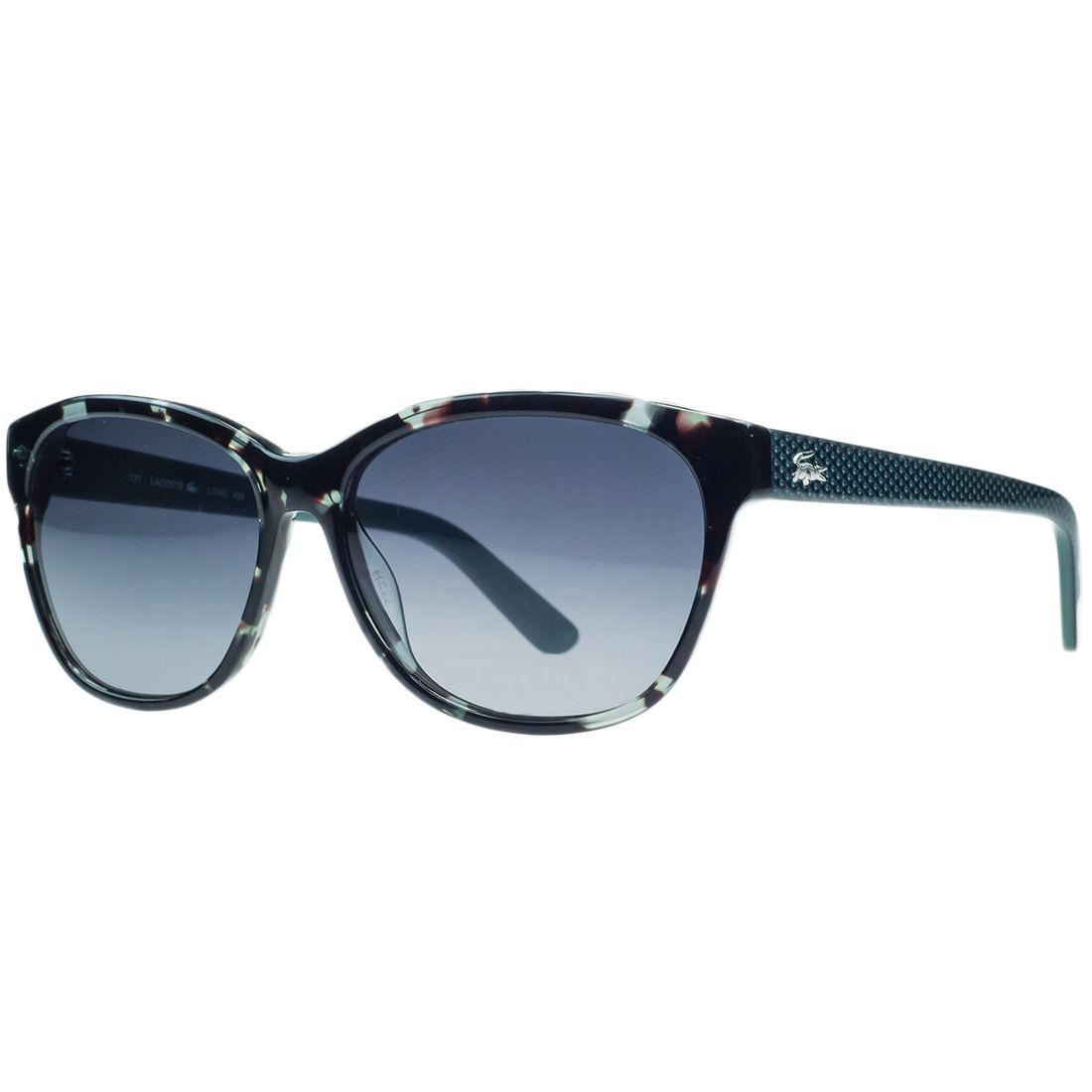 Lacoste L704/S 466 Petrol Havana Wayfarer Sunglasses