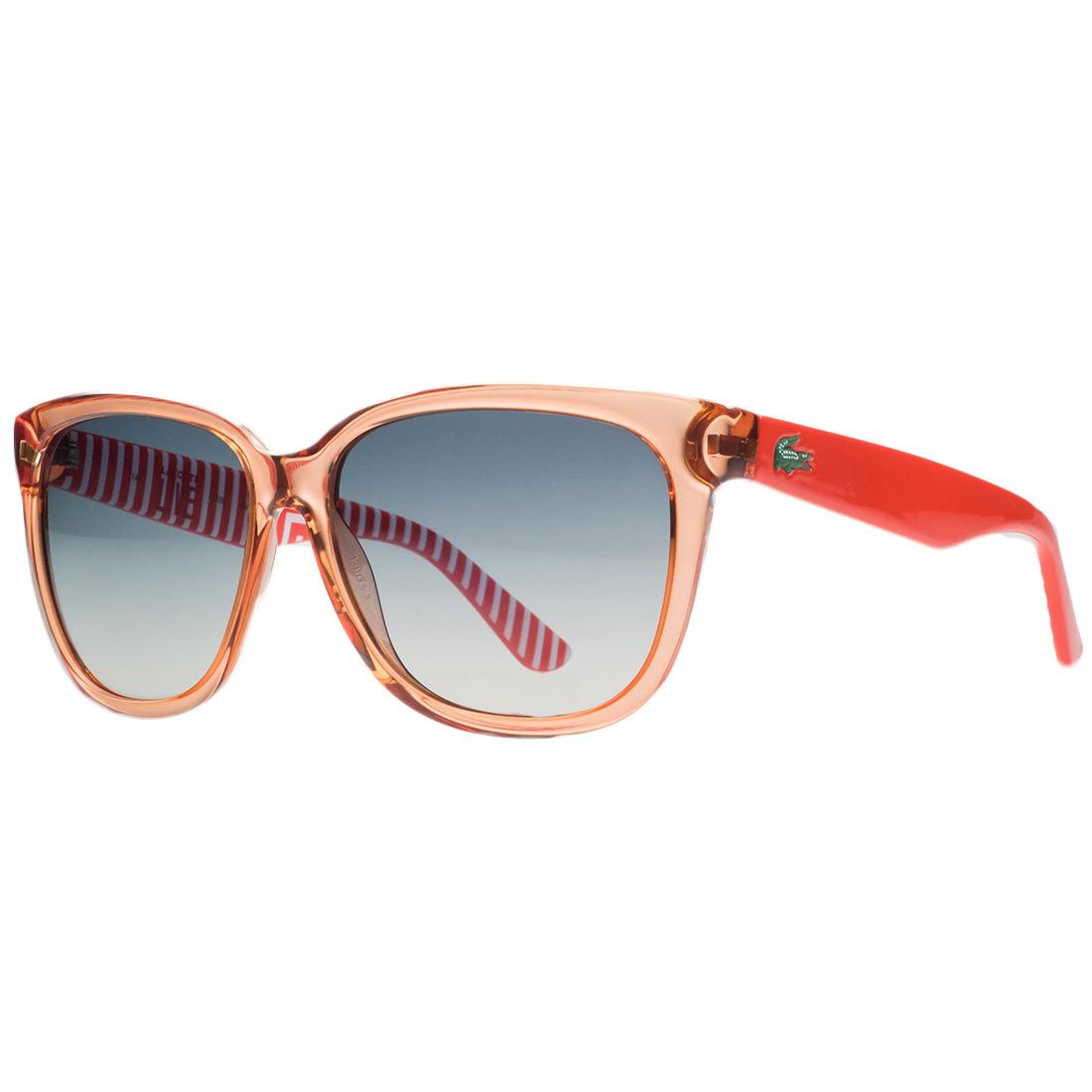 Lacoste L710/S 800 Ckear Orange Wayfarer Sunglasses