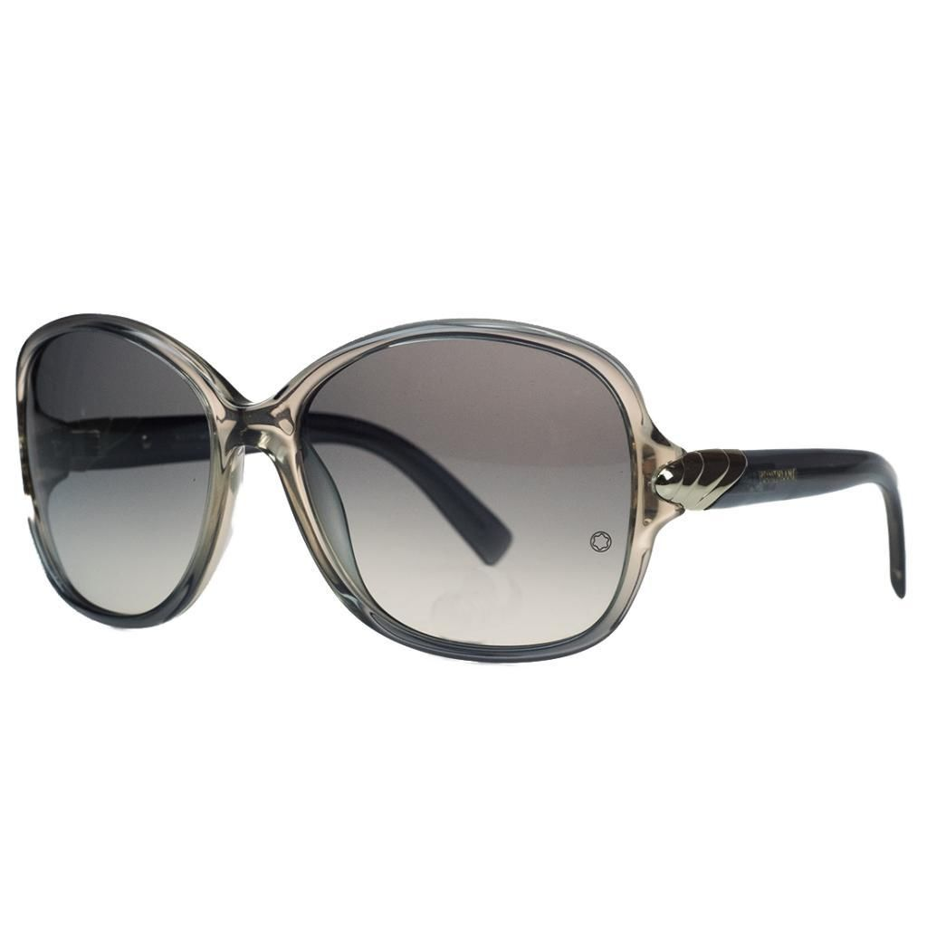 Montblanc MB412/S 20B Grey Square Sunglasses