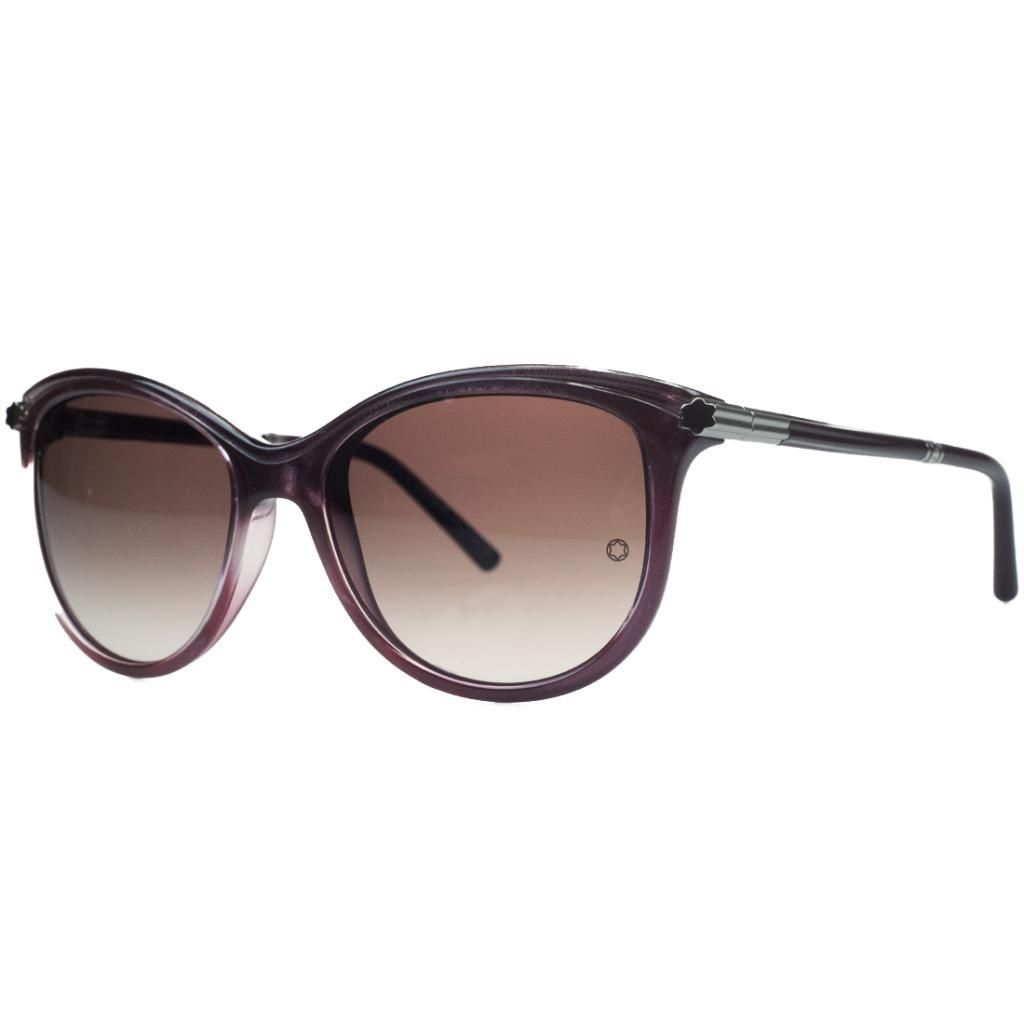 Montblanc MB471/S 71T Purple Cateye Sunglasses