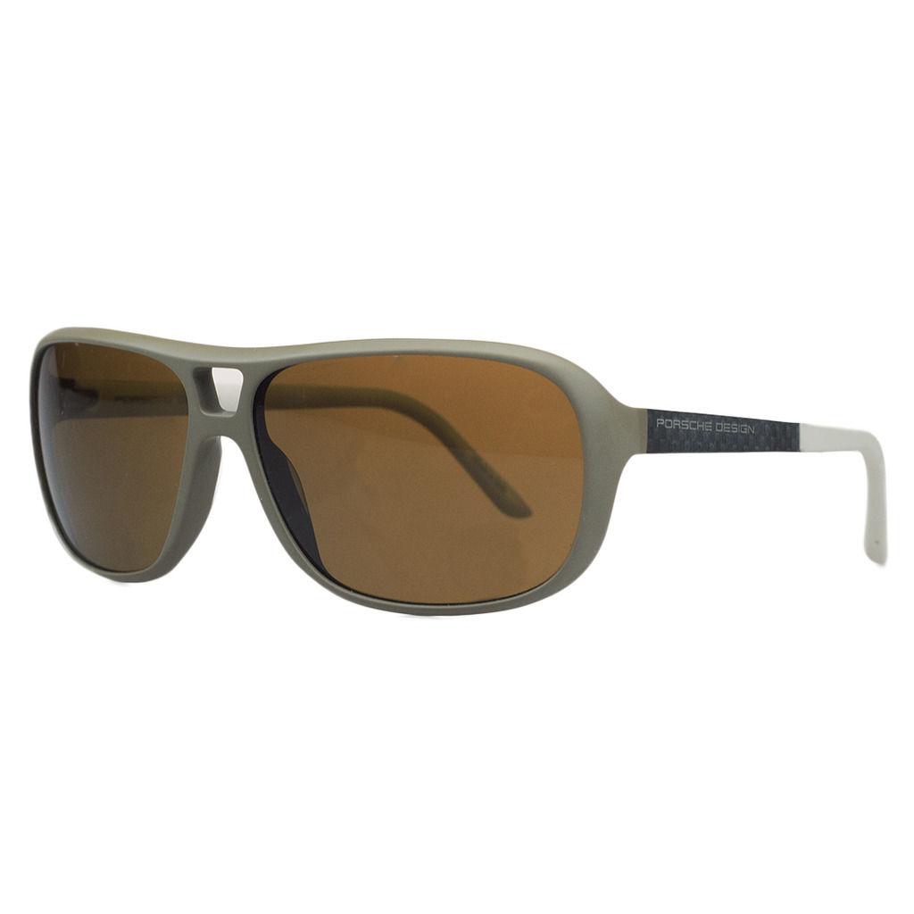 Porsche P8557-D Taupe Aviator Sunglasses