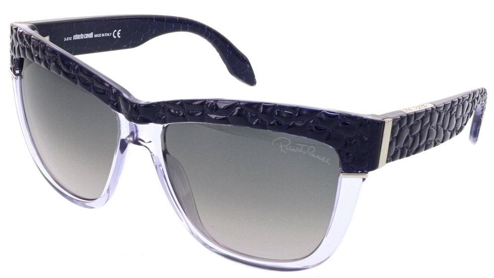 Roberto Cavalli RC 739S/S 83B REA Purple Wayfarer Sunglasses