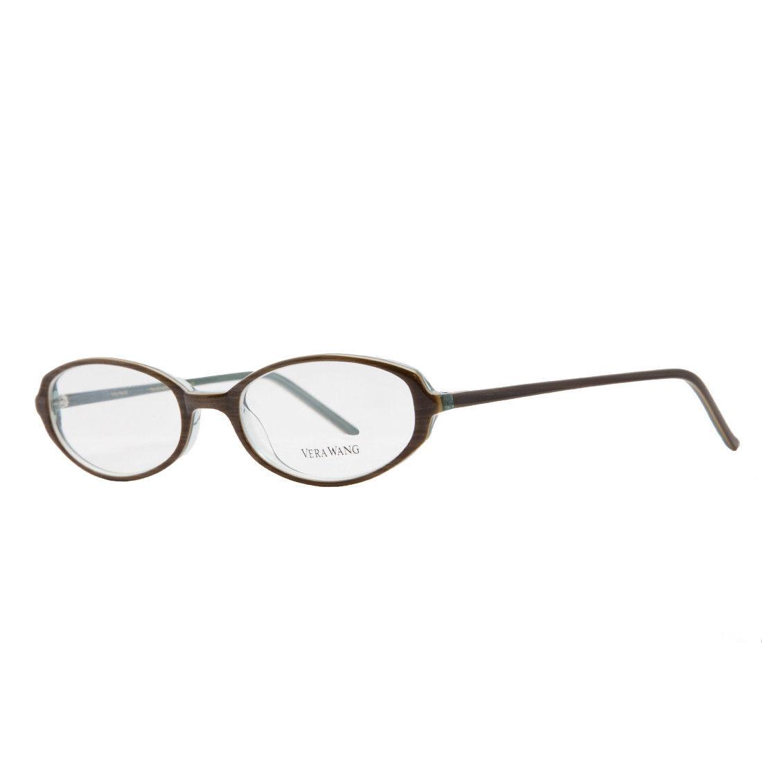 Vera Wang V 009 OL 49 Demi Olive Plastic Womens Optical Frame