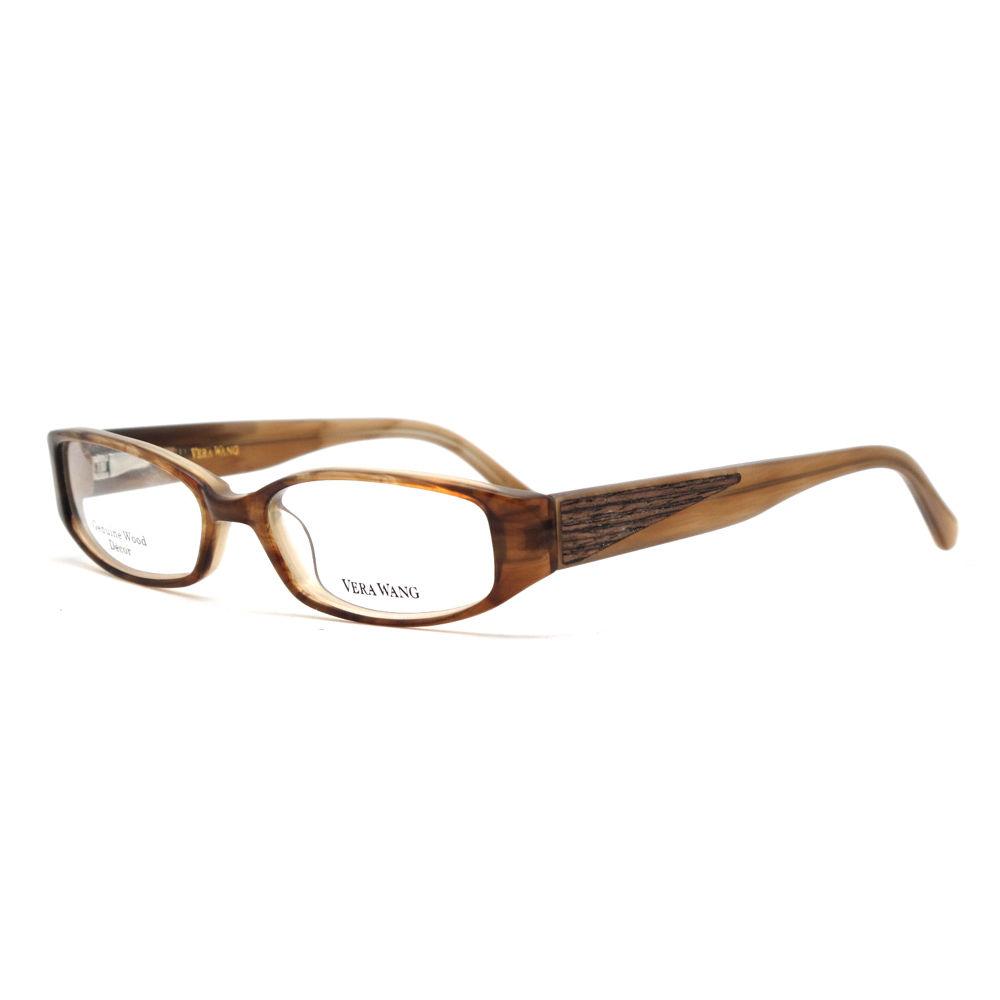 Vera Wang V 033 BR 49 Brown Full Rim Womens Optical Frame
