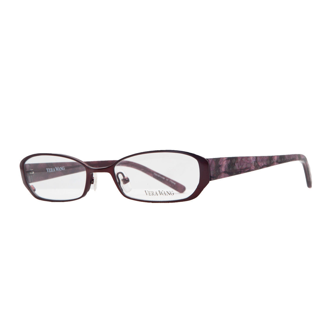 Vera Wang V 047 RD 50 Red Full Rim Womens Optical Frame
