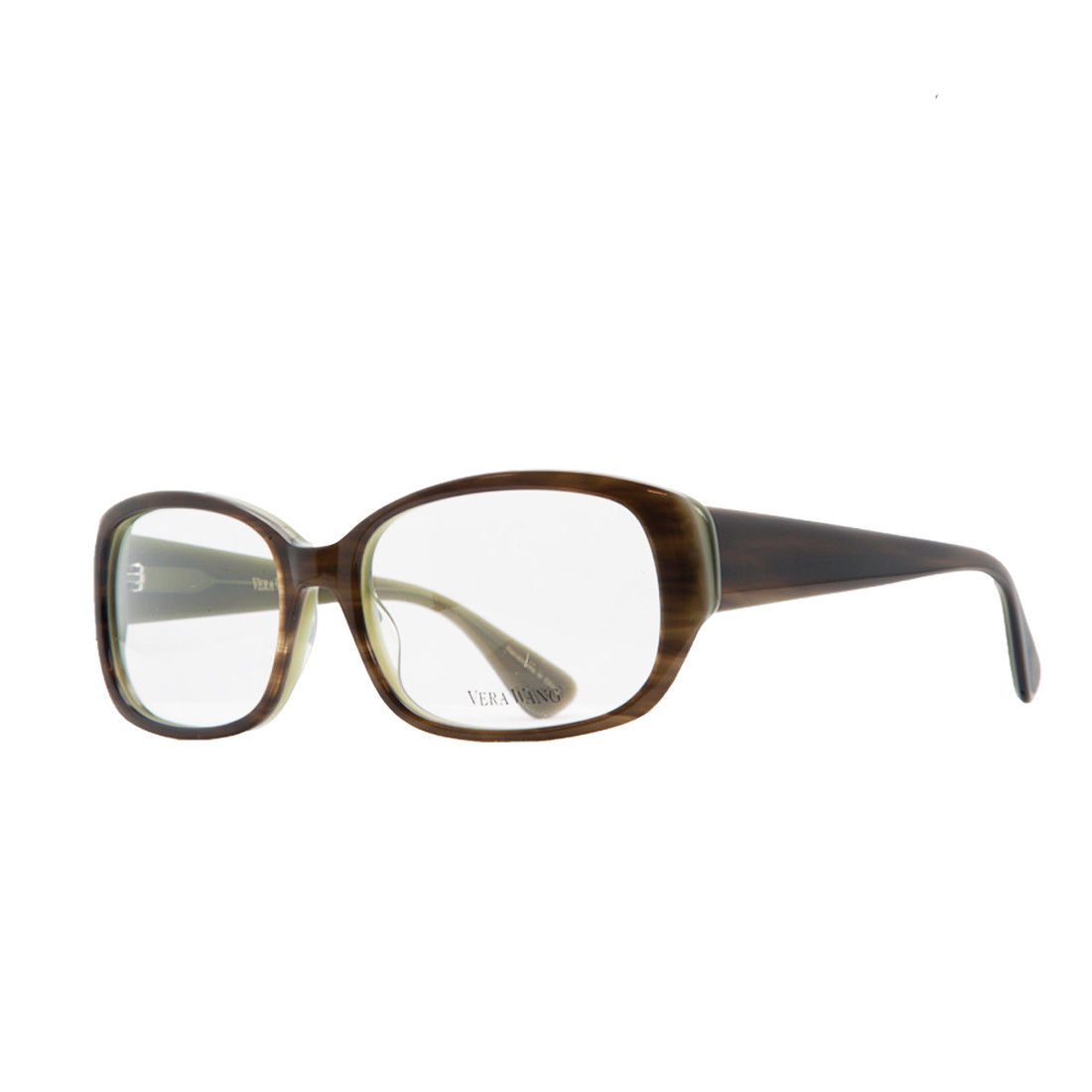 Vera Wang VE 04 MO 54 Moss/Tortoise Full Rim Womens Optical Frame