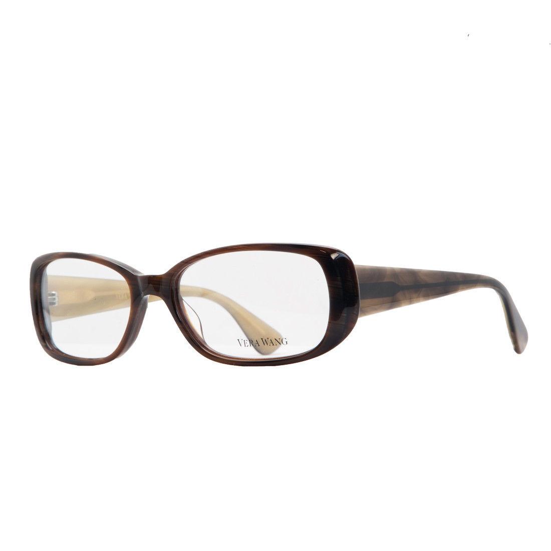 Vera Wang VE 13 HN 53 Horn Full Rim Womens Optical Frame