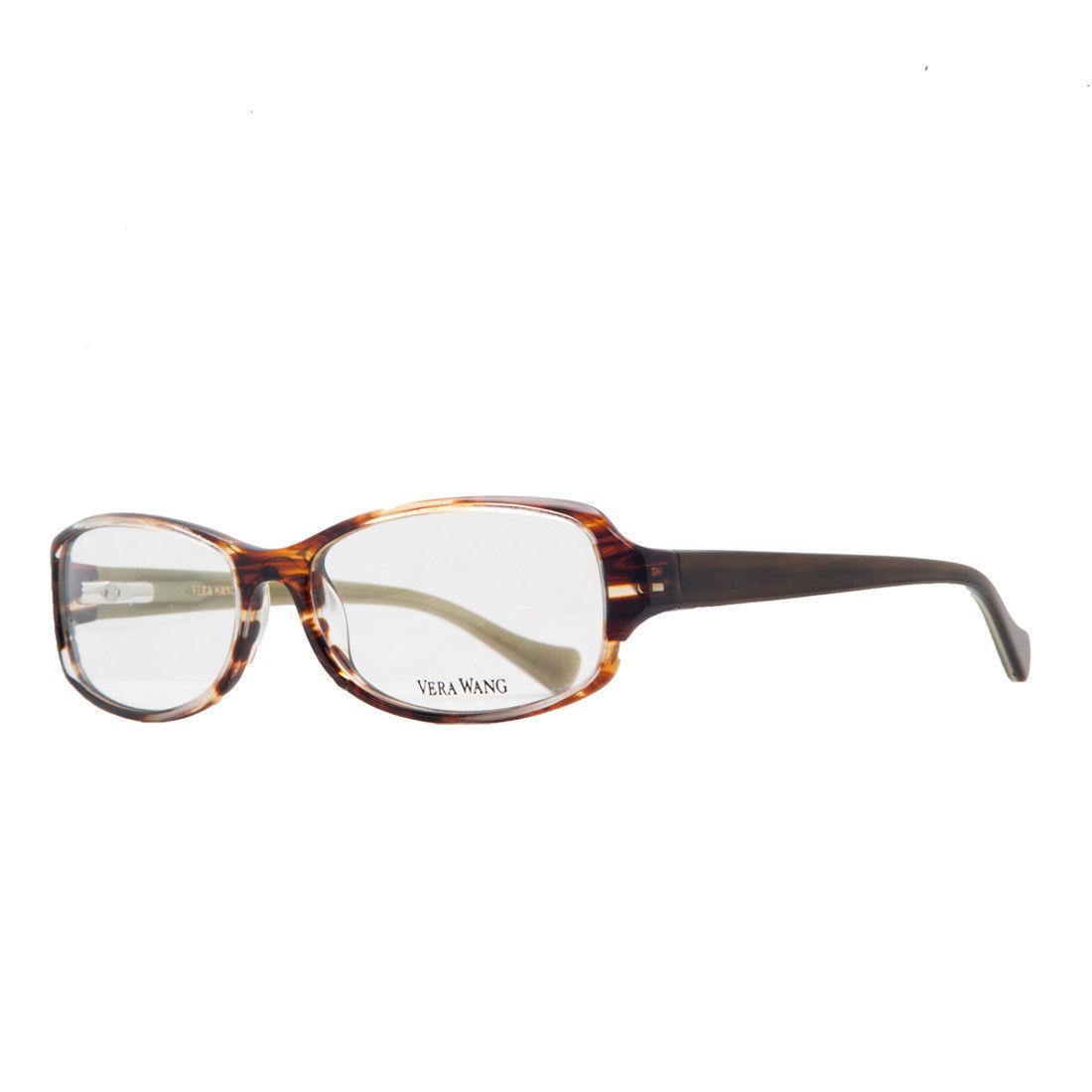 Vera Wang VE 16 CG 54 Cognac Full Rim Womens Optical Frame