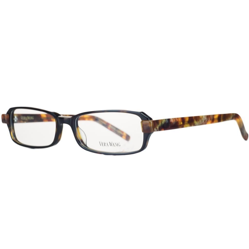 Vera Wang V 300 TO 52 Tortoise Full Rim Rectangular Optical Frame