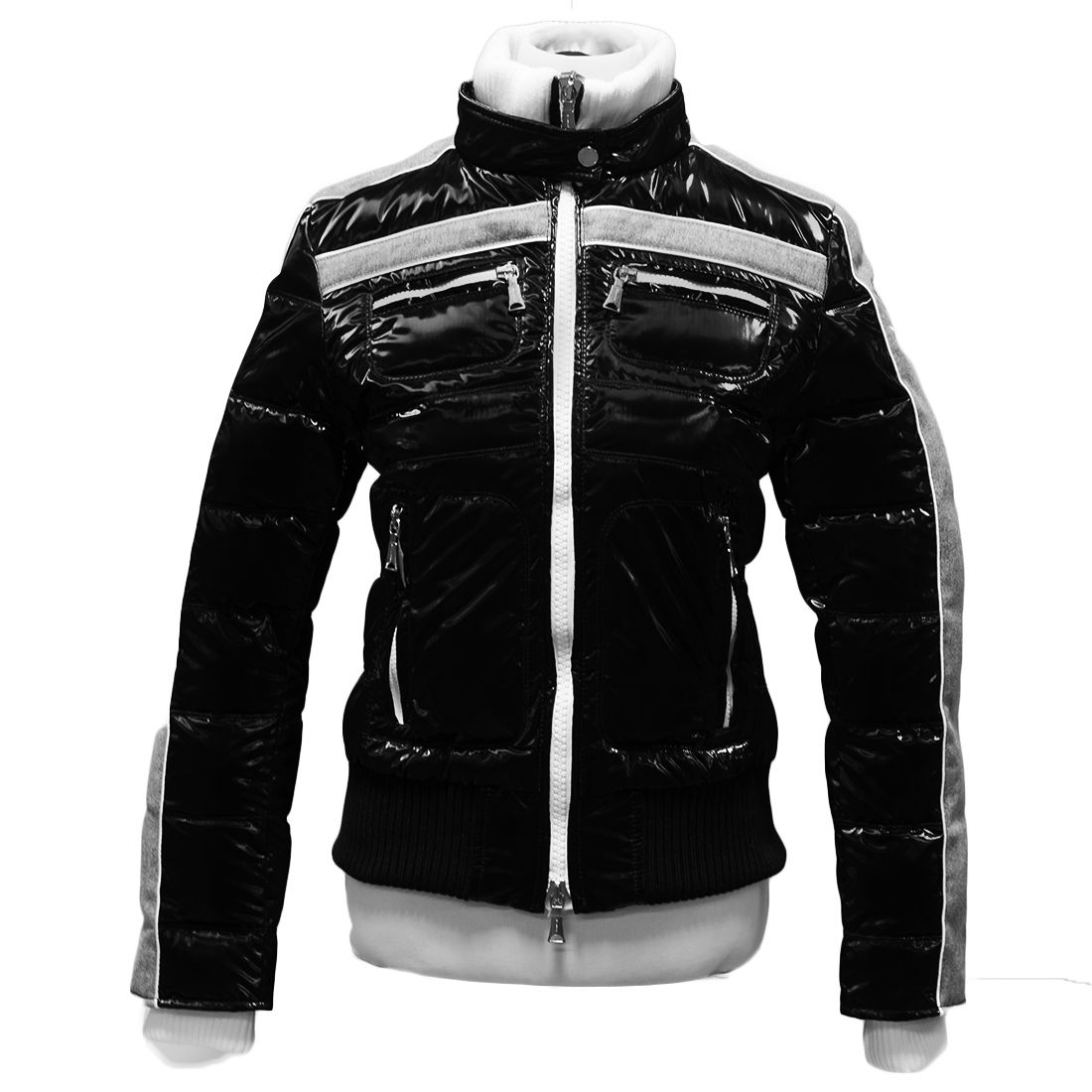 Williams Wilson Anise Nero Black Padded Women's Bomber Jacket