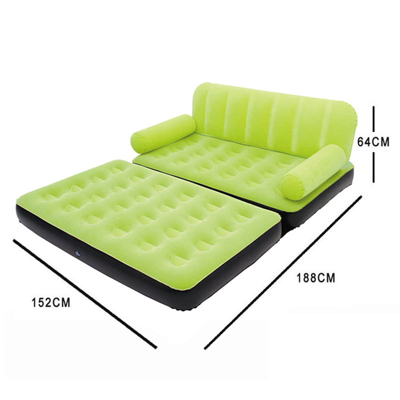 Multi Inflatable Pull Out Sofa Couch Full Double Air Bed