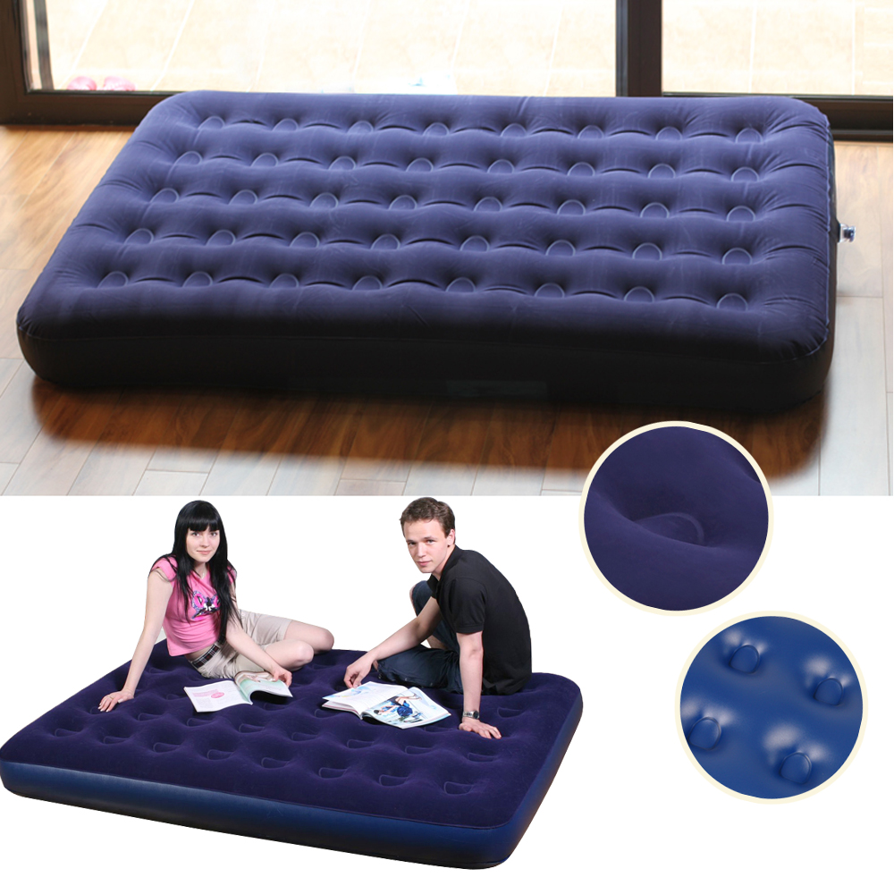 House Daybed Lounger Airbed Inflatable Sofa Couch Mattress Sleeper Double Bed Ebay