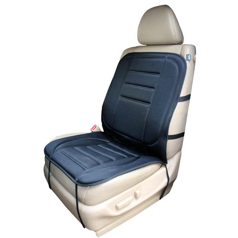 Car Heated Back Seat Cover Pad Cushion Heating Warm Winter Warmer Pad 12V New