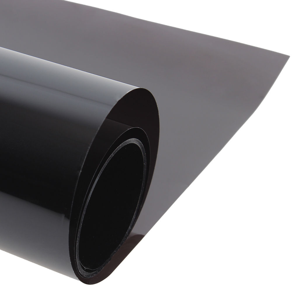 Black Window Tint Solar Films Car Film Scratch Resistant Membrane 50CM*300CM