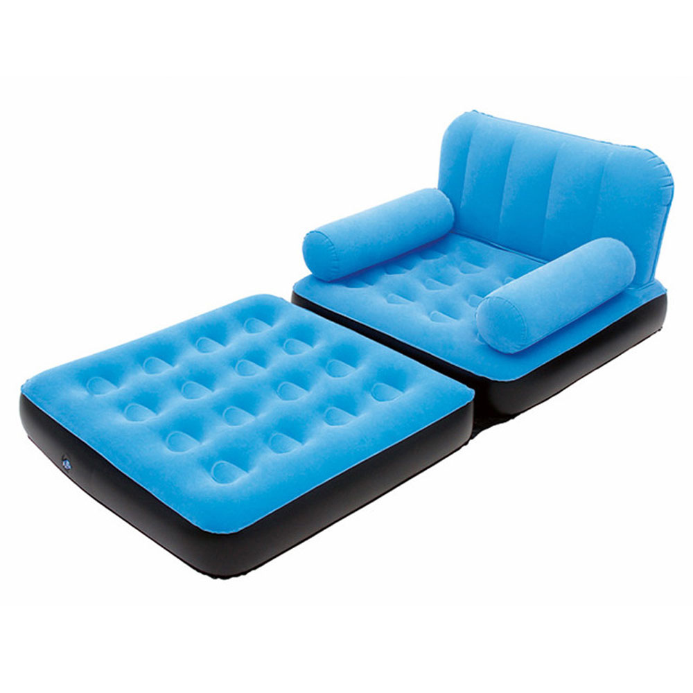 Inflatable Sofa Couch Full Single Air Bed Daybed
