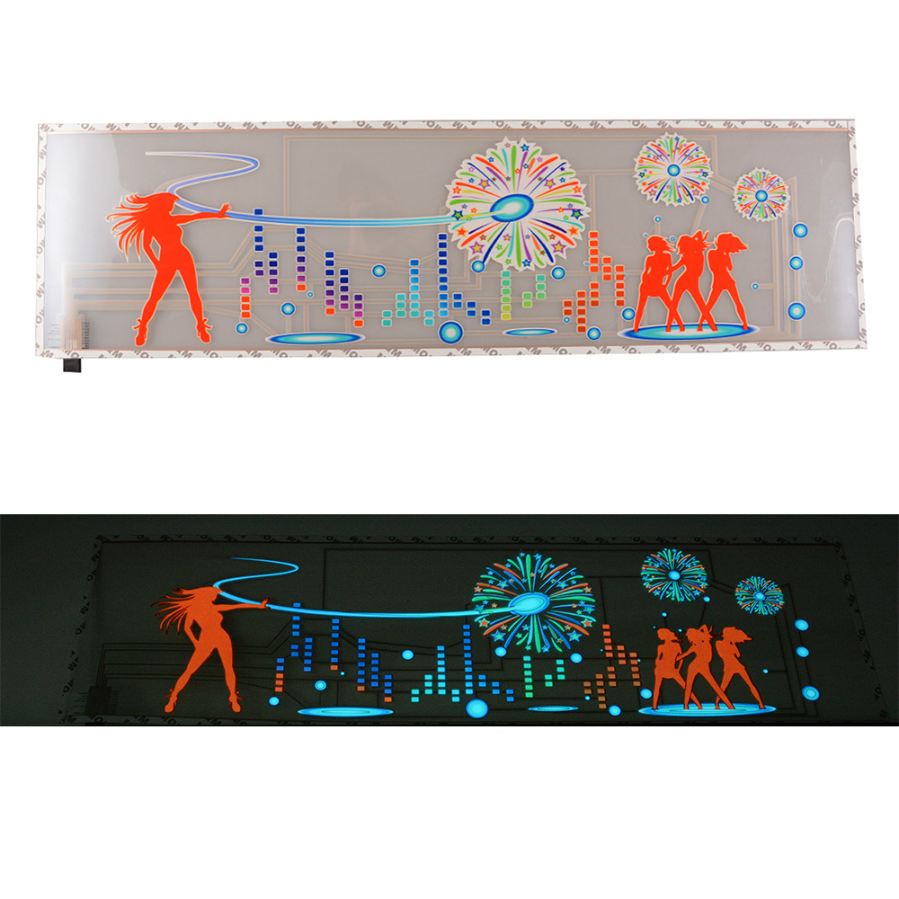 Car sticker design ebay - 90x25cm Car Sticker Music Rhythm Led Flash Light