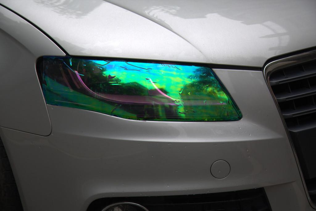 Multicolor Car Head Light film tint Sticker Tail light covers 12'' x 48'' 120cm