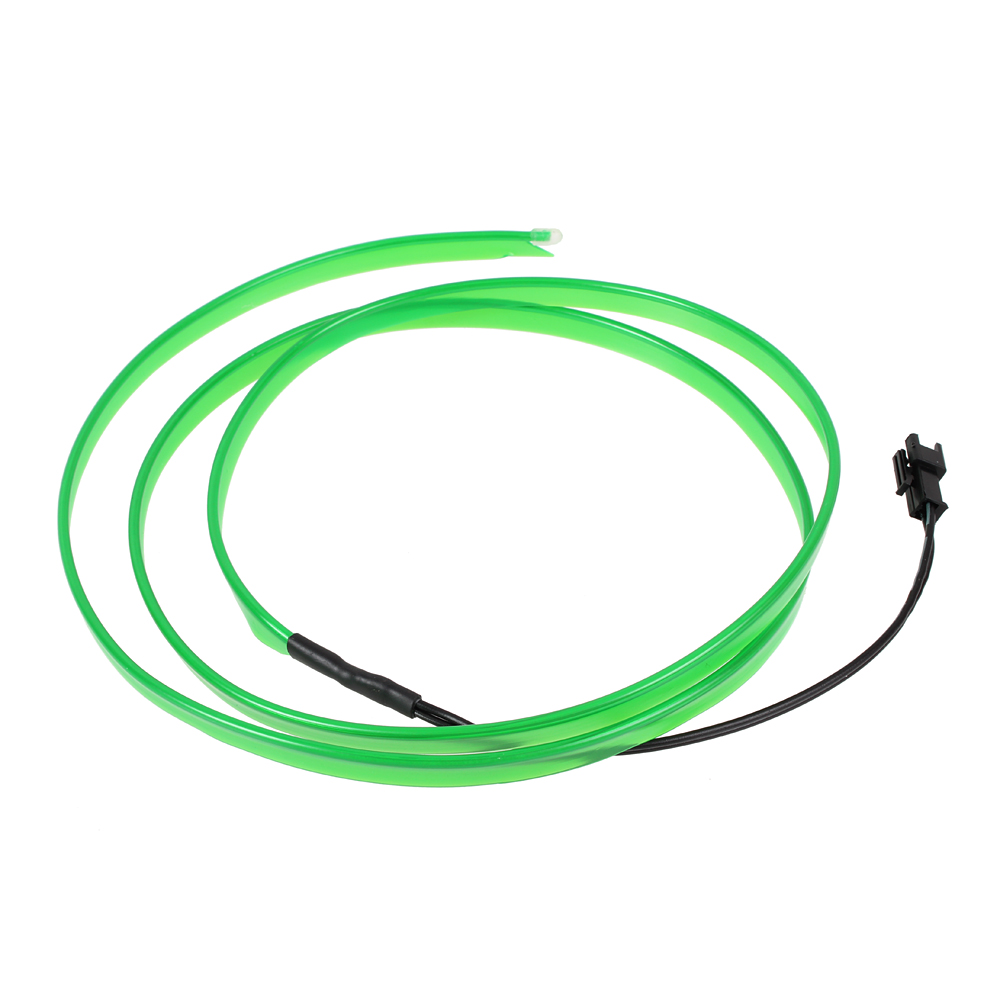 9ft White Neon Glowing Strobing Electroluminescent Wire (El Wire) | eBay