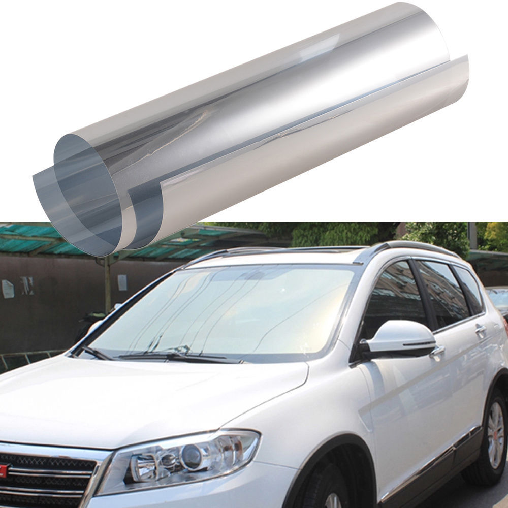 20 x 10ft scratch resistant reflective side rear window for 16 window tint