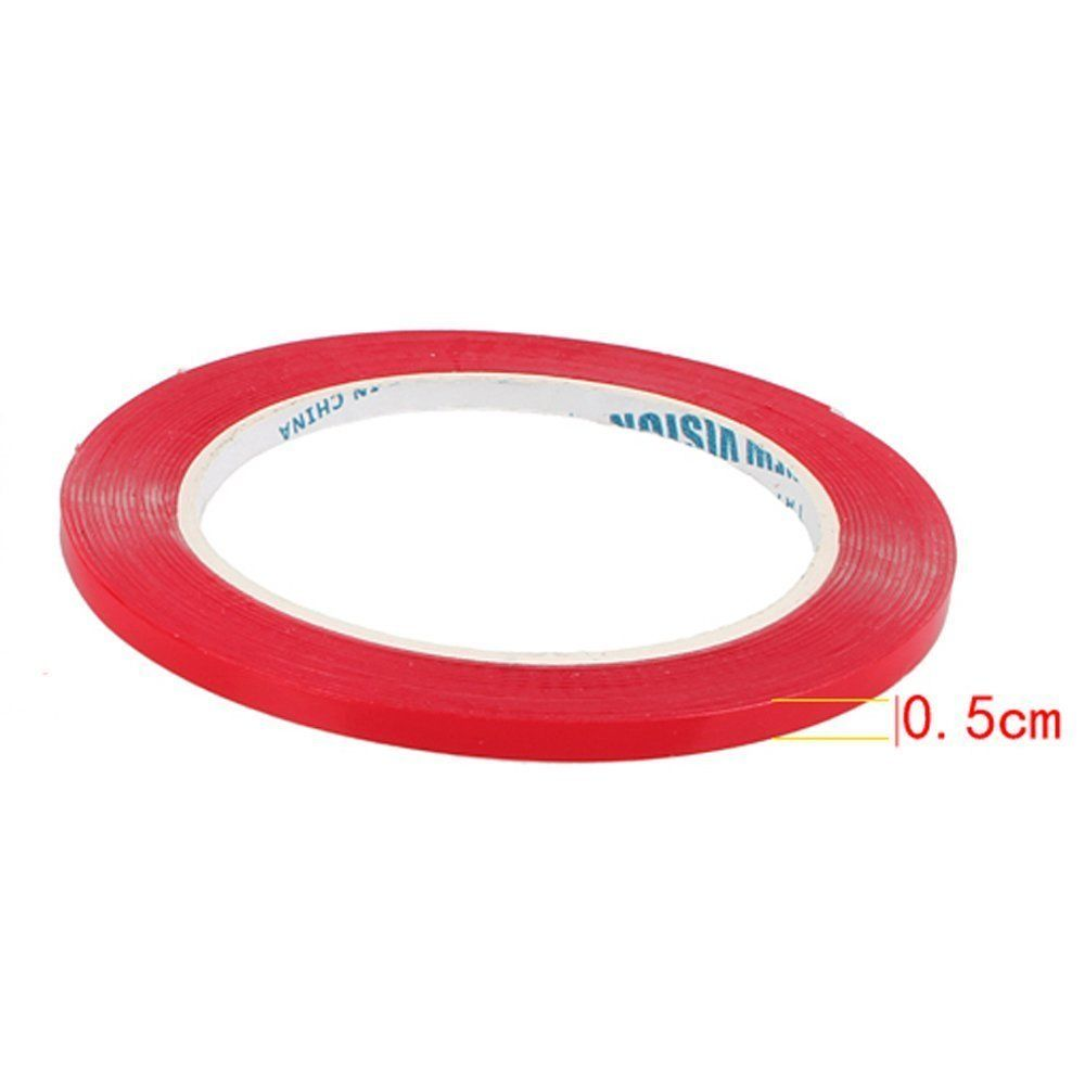Strong 3m Transparent Double Sided Adhesive 300x1cm Ebay