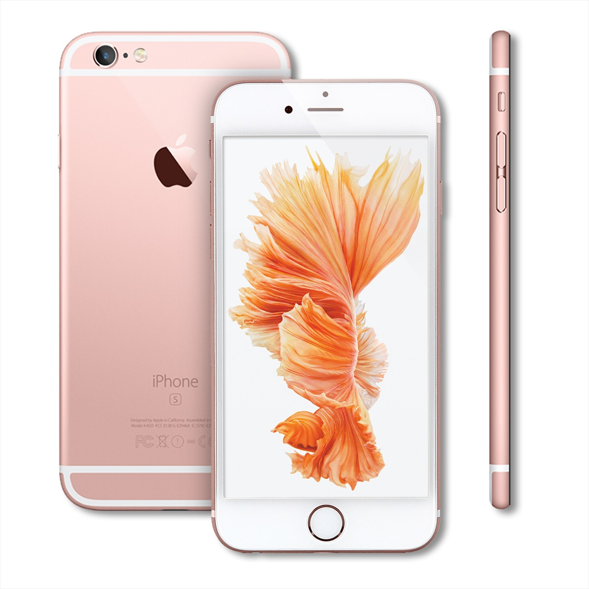 apple iphone 6s smartphone 16gb unlocked cell phone a1688 silver rose gold ebay. Black Bedroom Furniture Sets. Home Design Ideas