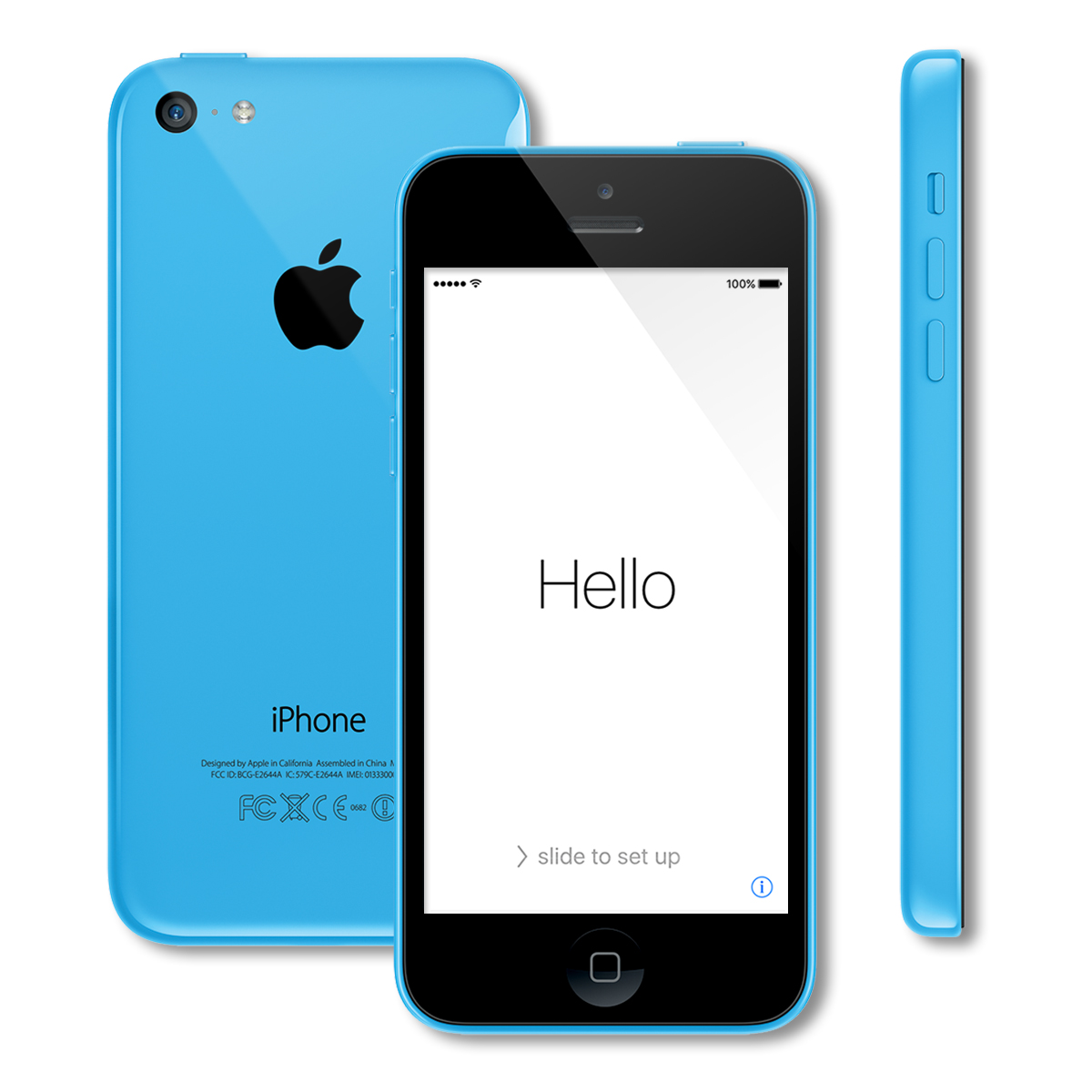 apple iphone 5c smartphone 16gb at t no contract ebay. Black Bedroom Furniture Sets. Home Design Ideas
