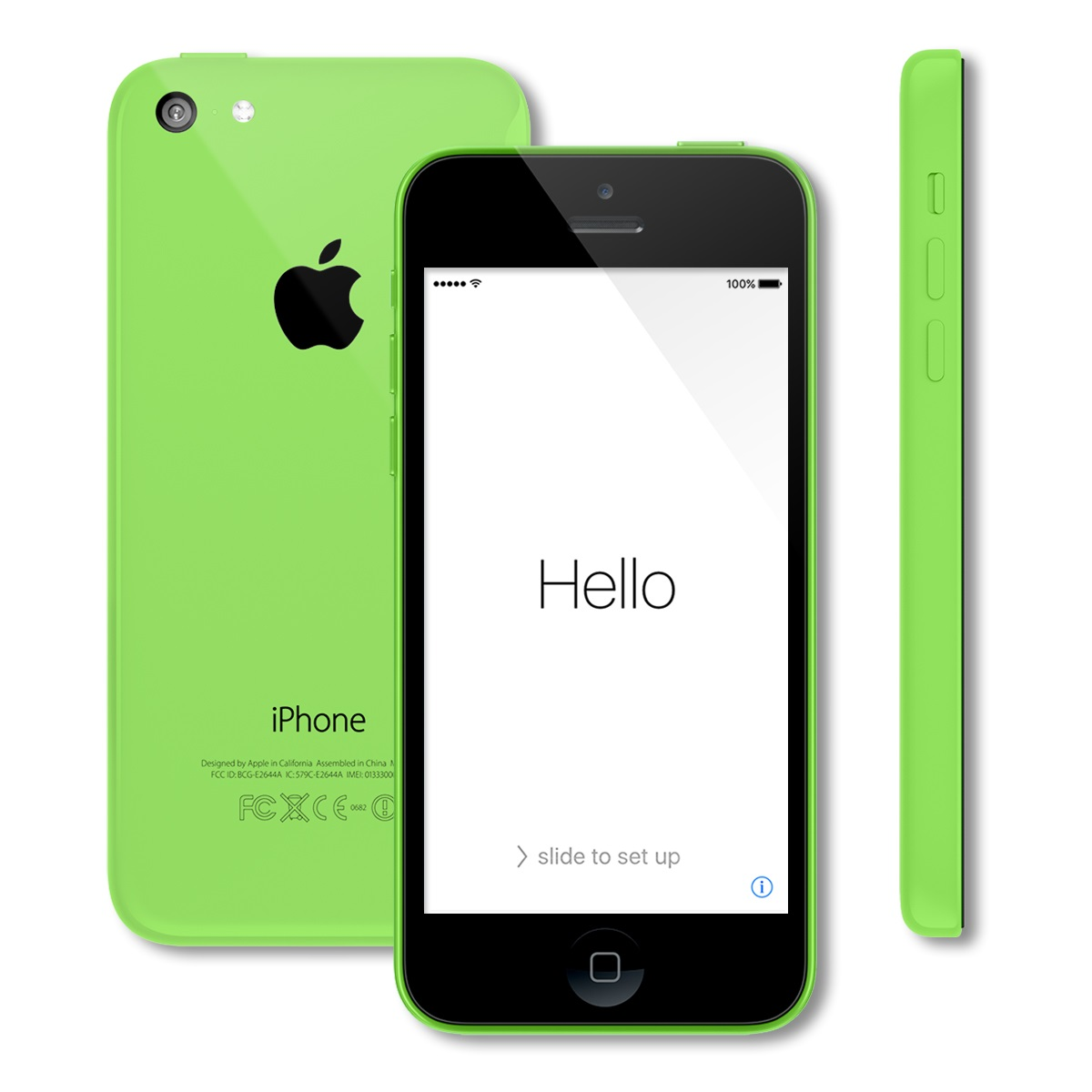 apple iphone 5c 16gb gsm unlocked smartphone a1532 at t t mobile ebay. Black Bedroom Furniture Sets. Home Design Ideas