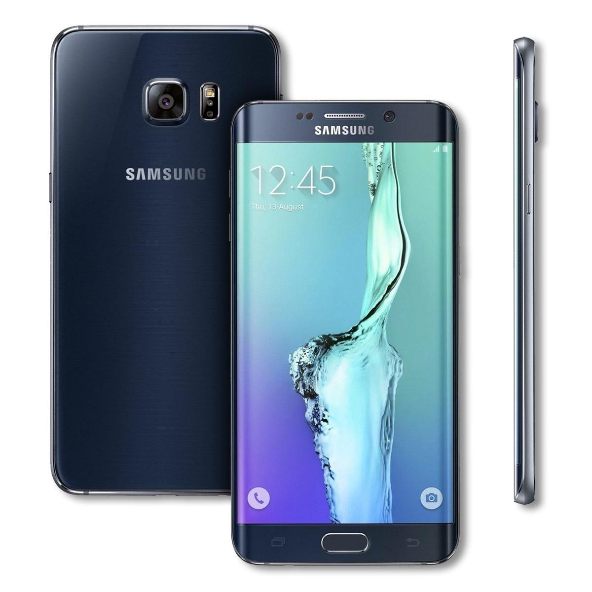 samsung galaxy s6 edge plus sm g928v smartphone verizon 4g lte 32gb ebay. Black Bedroom Furniture Sets. Home Design Ideas