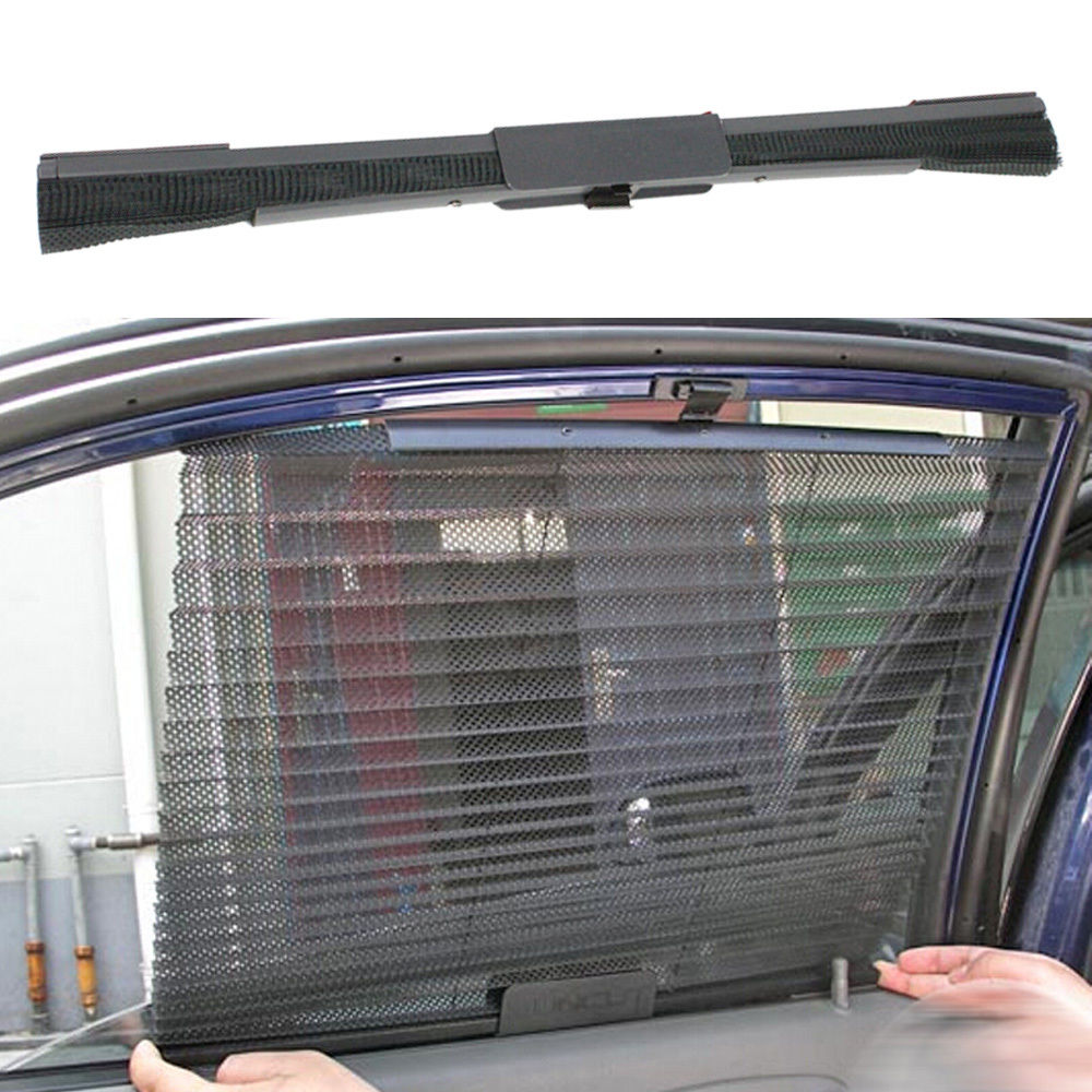Auto Interior Sun Shades Car Curtain Side Window Roller