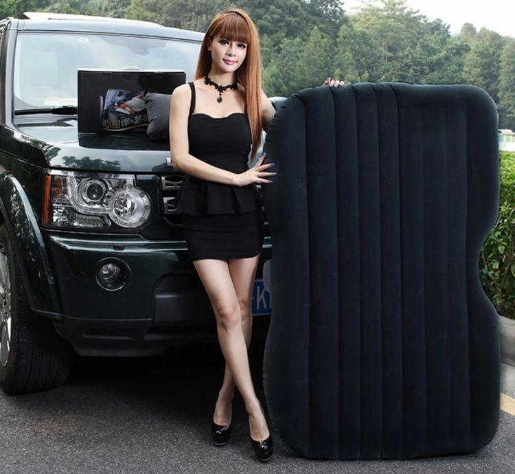 Car seat sex self drive travel air mattress rest pillow for Materasso per auto