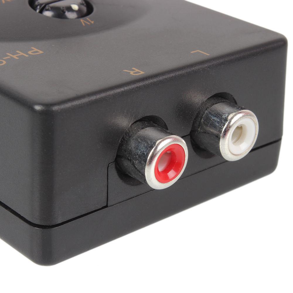 car stereo audio speaker rca line level converter adaptor. Black Bedroom Furniture Sets. Home Design Ideas