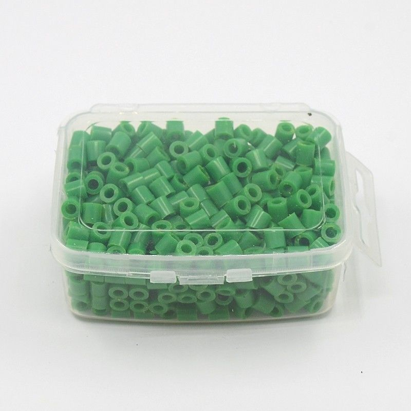 1box 5mm melty pe fuse hama perler loose beads kids toy