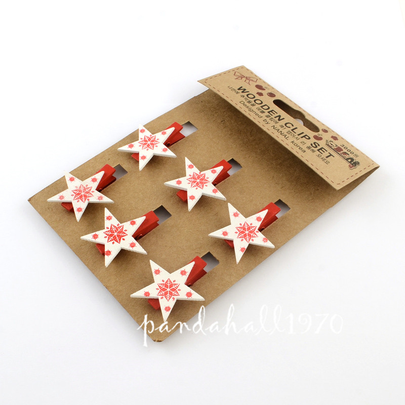 Cards-DIY-Wooden-Party-Photo-Wall-Decorations-Postcards-Pegs-Clips ...