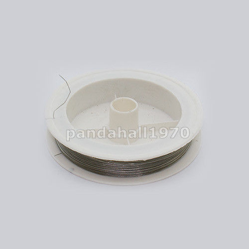 1 roll 0.38mm Tiger Tail Stainless Wire Spool Stringing Materials 50m/roll