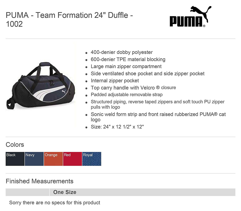 Teamsport Formation 24 Inch Duffel PUMA