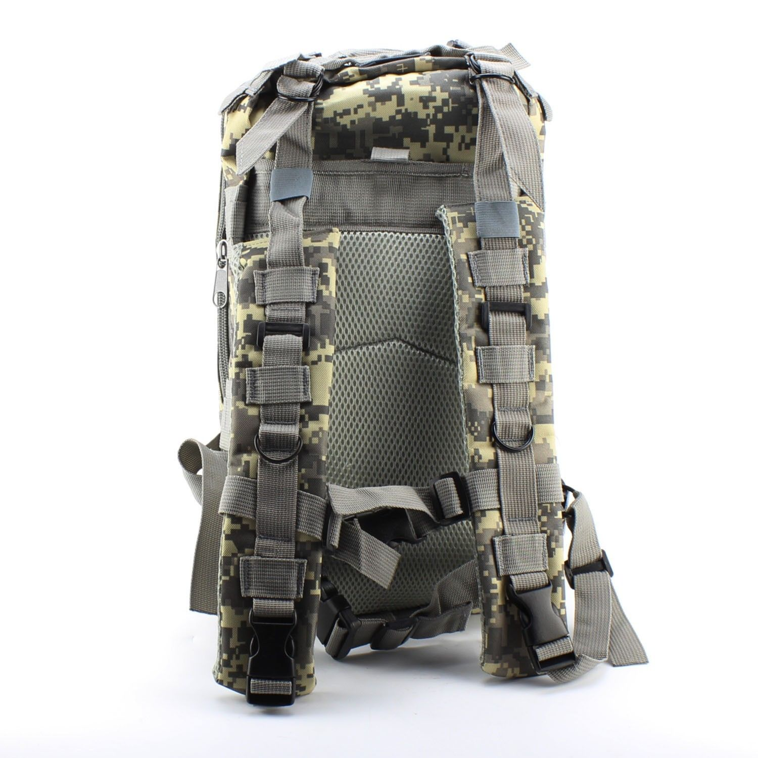 Outdoor Hiking Trekking Camping Travel bag Military Tactical Backpack Rucksack