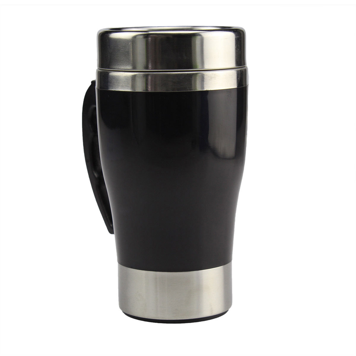 Stainless Steel Lazy Self Stirring Auto Mixing Mug Office Home Tea Coffee Cup