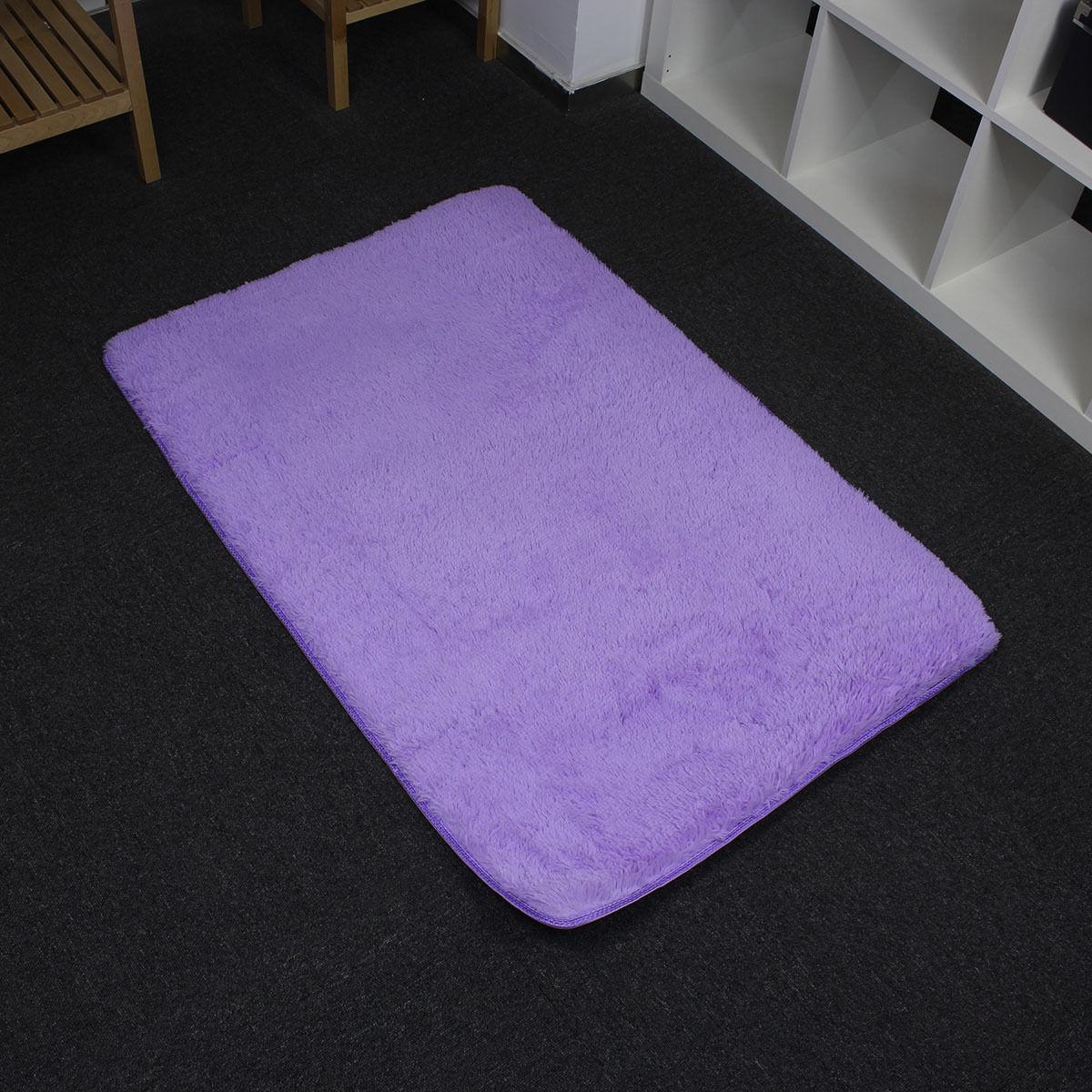 Anti-skid Soft Floor Carpet Living Bedroom Shaggy Rooms