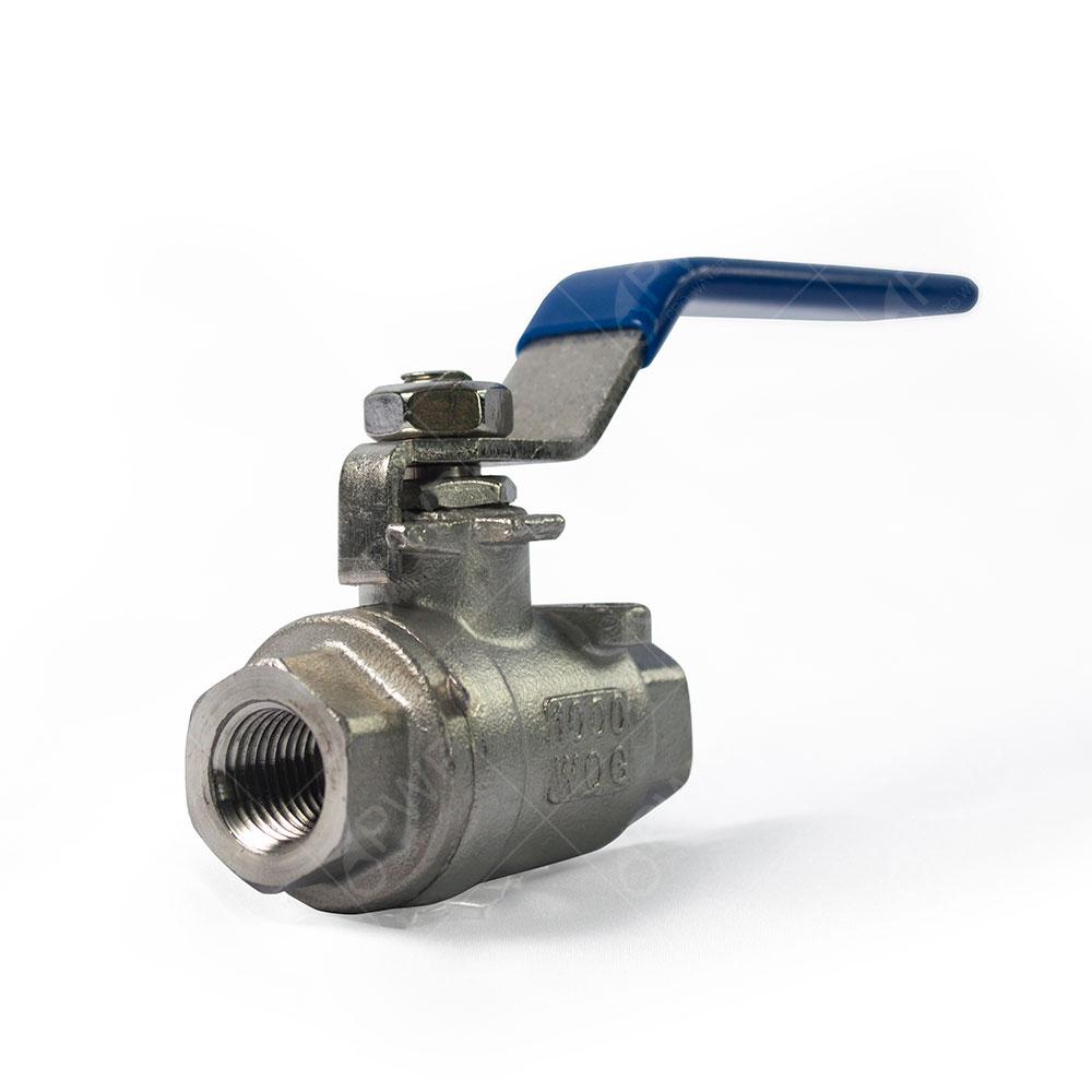 Pc stainless steel ball valve shut off quot npt