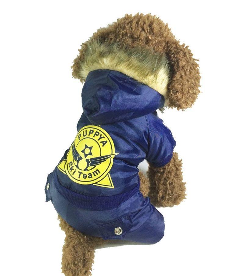 Small Dog Snowsuit