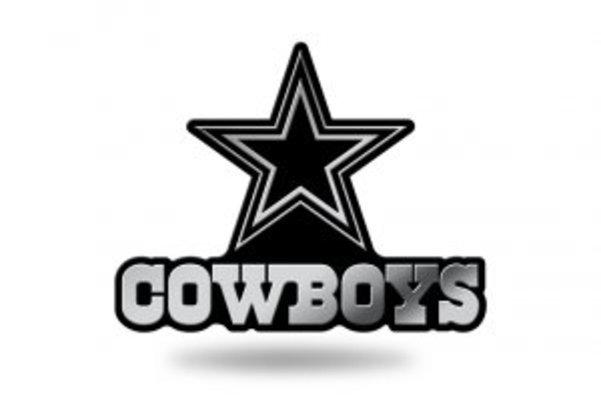 Dallas Cowboys NFL Plastic Auto Emblem