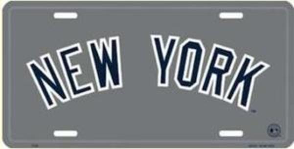 New York YANKEES License Plate