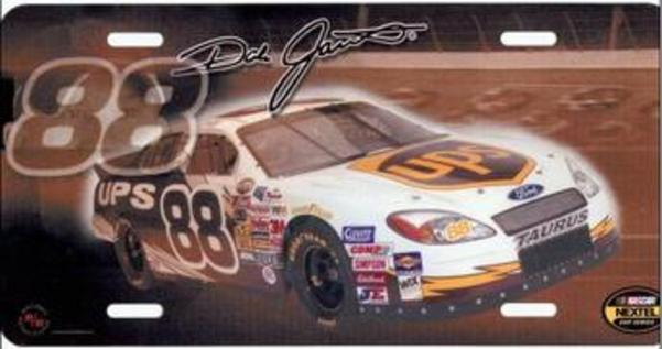 Dale Jarrett #88 NASCAR License Plate