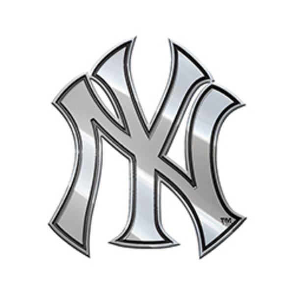 New York YANKEES MLB Metal Auto Emblem